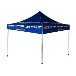 Tente CHASE 3x3m 1 full & 3 demi mur usprobikes blue