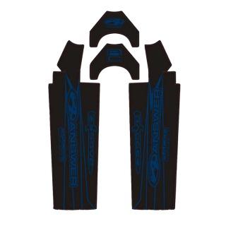 Stickers de fourche ANSWER Dagger carbone