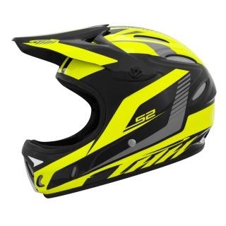 Casco THH S2 2020 negro/amarillo