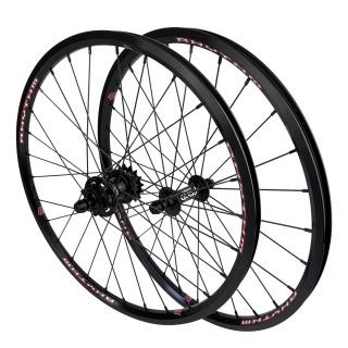 "CRUPI Quad Disc wheelset 20""x1-3/8"""
