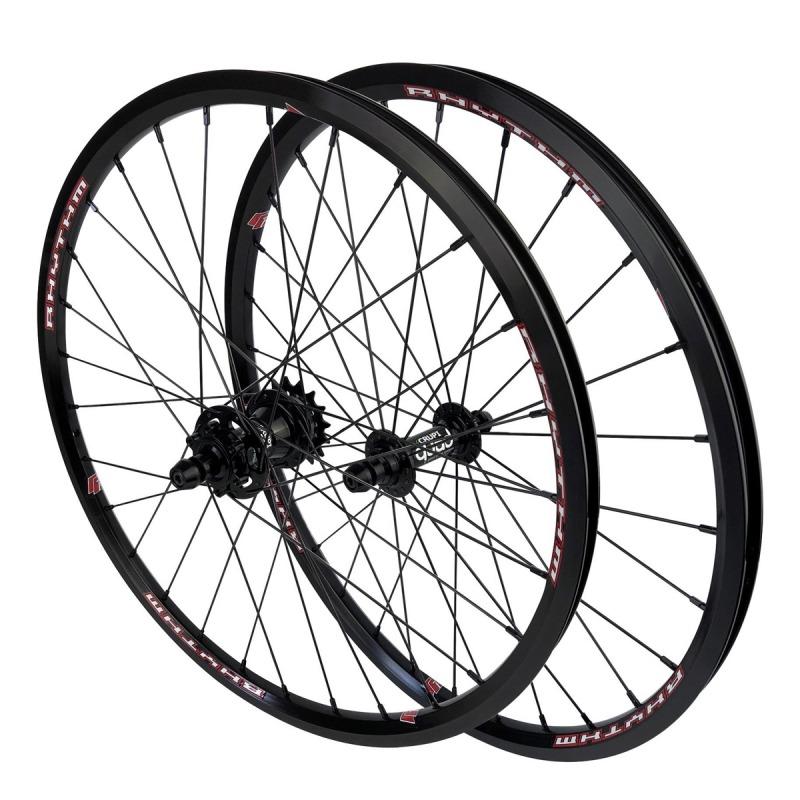 "CRUPI Quad Disc Wheelset 20""x1-1/8"""