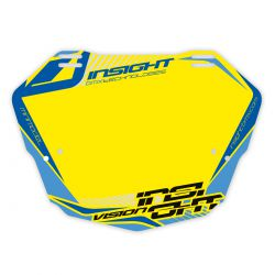 Plaque INSIGHT vision 2 mini fond jaune