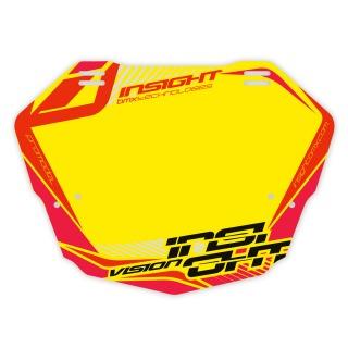 Plaque INSIGHT vision 2 pro yellow/black