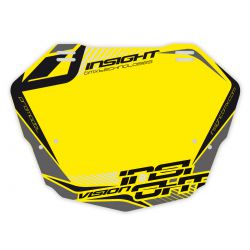Plaque INSIGHT vision 2 pro fond jaune