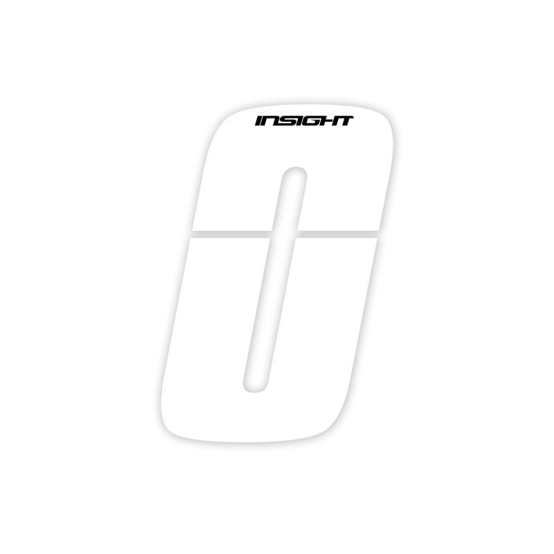 Numéros INSIGHT 10cm blanc