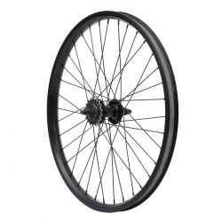 """Roue POSITION ONE arriere ball 36H 2 wall K7 24""""*1.75"""" black"""