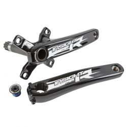 Manivelle INSIGHT alu 2 pieces 4 points 165mm black