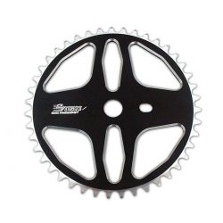 "Plateau SNAP team alu epaisseur 5 mm 45 dents 3/32"" black"