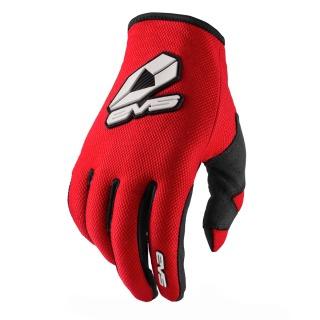 Gants EVS sport rouge/noir