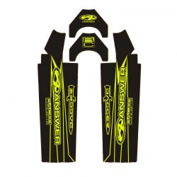 "Sticker wrap ANSWER expert/pro 20"" neon yellow"