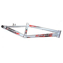 "Cadre SSQUARED vp pro XL alu 21.25"" direction 1-1/8"" grey/red"