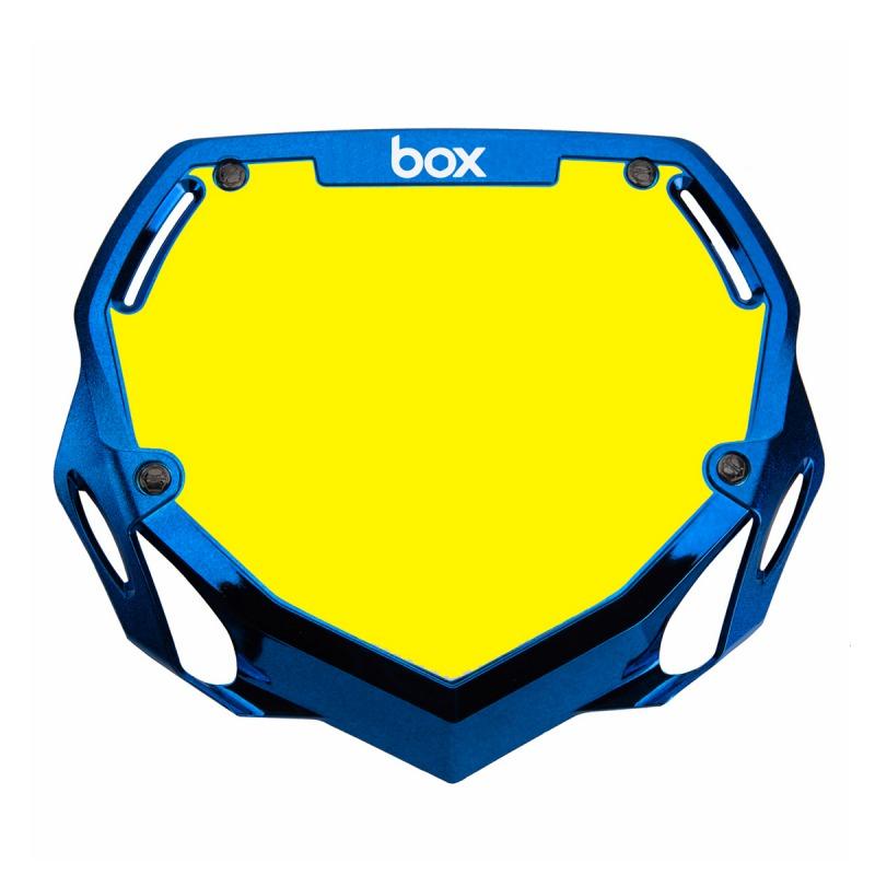 Plaque BOX two chrome pro