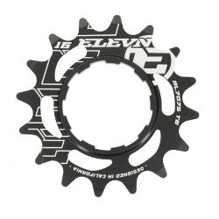 Cassette aluminum ELEVN 14 dents black (shimano)