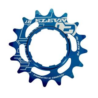Cassette aluminum ELEVN 14 dents blue (shimano)