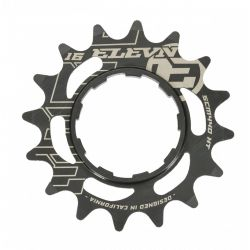 Cassette chromoly ELEVN 14 dents black (shimano)