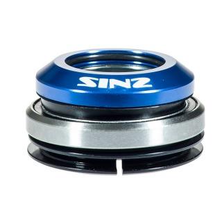 "Jeu de direction SINZ integre alu 1-1/8"" 1.5"" livre 2 base plate blac"