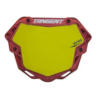 Plaque TANGENT ventril 3D chrome