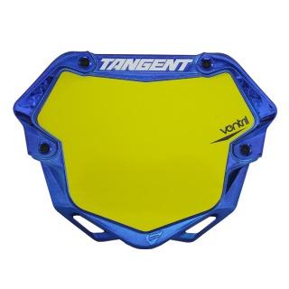 TANGENT Number plate ventril 3D chrome