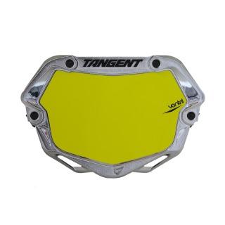 TANGENT Number plate ventril 3D mini chrome