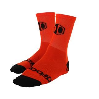Chaussettes BOX racing medium orange/black