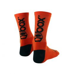 Chaussettes BOX racing medium orange/black