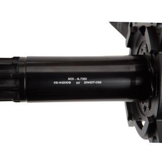 Pedalier BOX one M35 2 pieces alu 175mm black