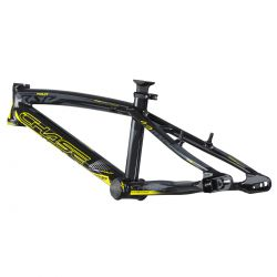 """Cadre CHASE rsp4.0 mini alu 18"""" direction OD 1-1/8"""" black/n yellow"""