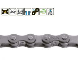 "KMC Z1X EPT wide 1/8"" chain"