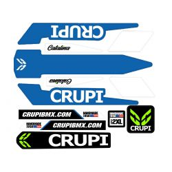 CRUPI Catalina 2019 frame stickers blue