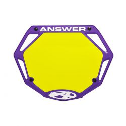 ANSWER 3D Number plate mini