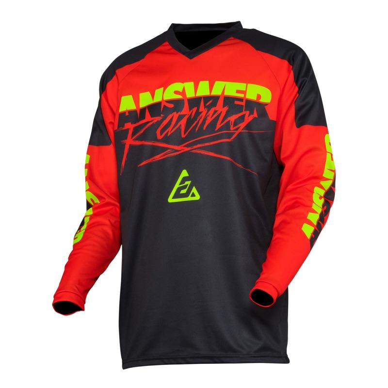 ANSR Syncron Glow 2020 jersey black/red