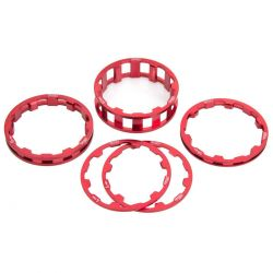 """BOX one Spacers Pack 1-1/8"""""""