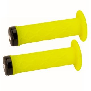 Pack poignee ODI lock on tangent avec colerette 130mm black/black