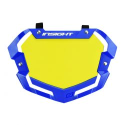 Plaque INSIGHT 3D vision2 pro white & yellow/black